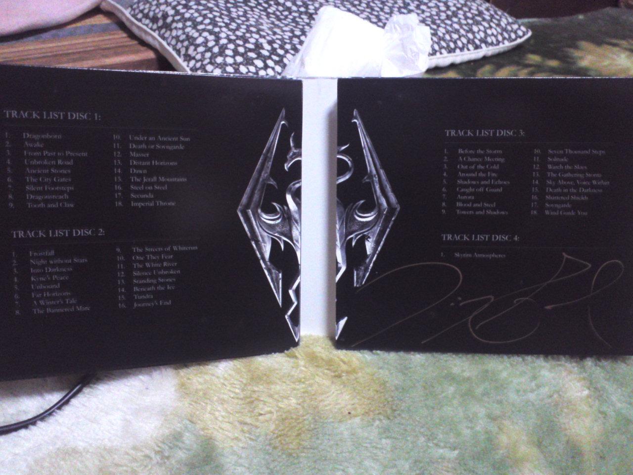 The Elder Scrolls:V Skyrim Original Game Soundtrack